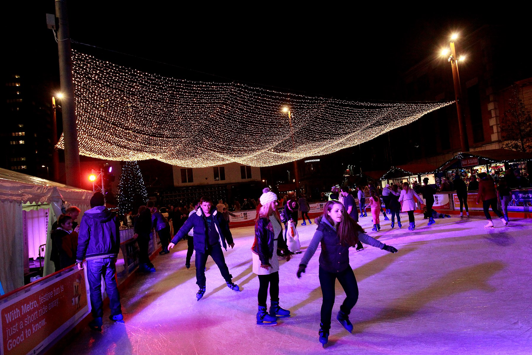 Christmas in Sunderland Frost Village official opening event Picture: DAVID WOOD